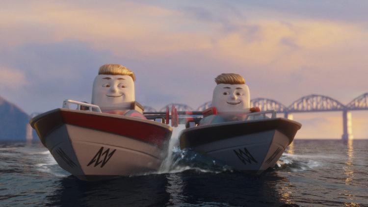 Marcus & Martinus dukker opp i båtversjon. (Foto: SF Norge)
