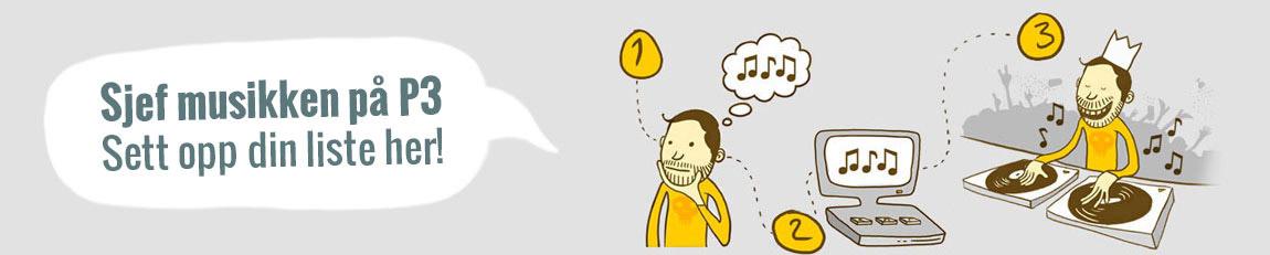 Sjef musikken på P3