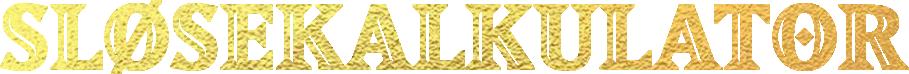 Tittel: Sløsekalkulator