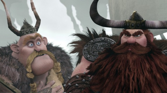 """Tøffe vikinger i """"Dragetreneren"""" (Foto/Copyright: United International Pictures)."""