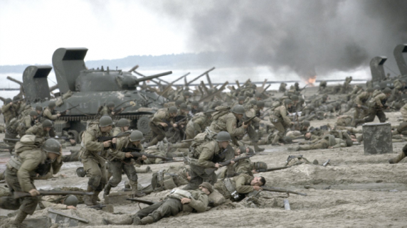 Sterke krigsscener i Saving Private Ryan. (Foto: DreamWorks)