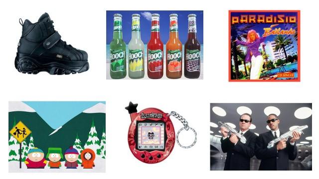Buffalo, Hooch, Bailando, South Park, datadyr, og Men In Black var viktige elementer av sommeren 1997.